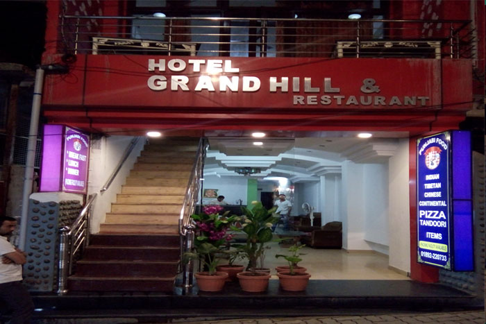 Hotel Grand Hills, Dharamshala